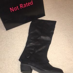 Brand new Not Rated boots! Never worn.